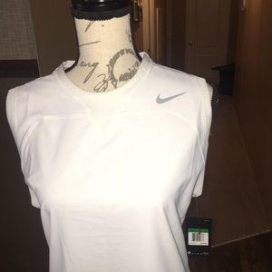 NWT Nike flex golf dress white